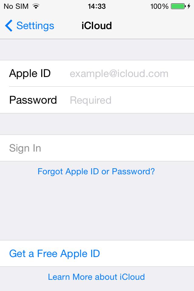 wie man das Hintergrundbild in iPhone4 ändert