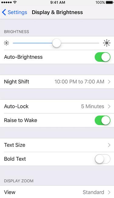 wie man das Hintergrundbild in iPhone9 ändert