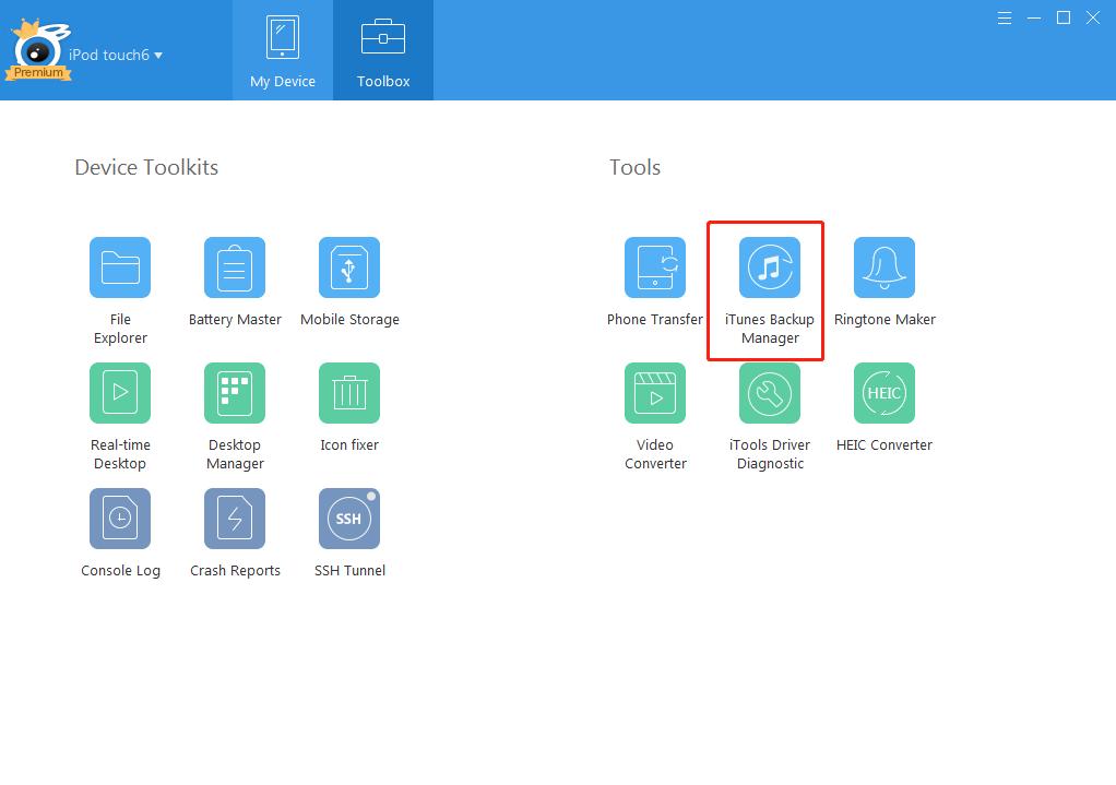 o que fazer se o iTools não detectar o dispositivo iOS4