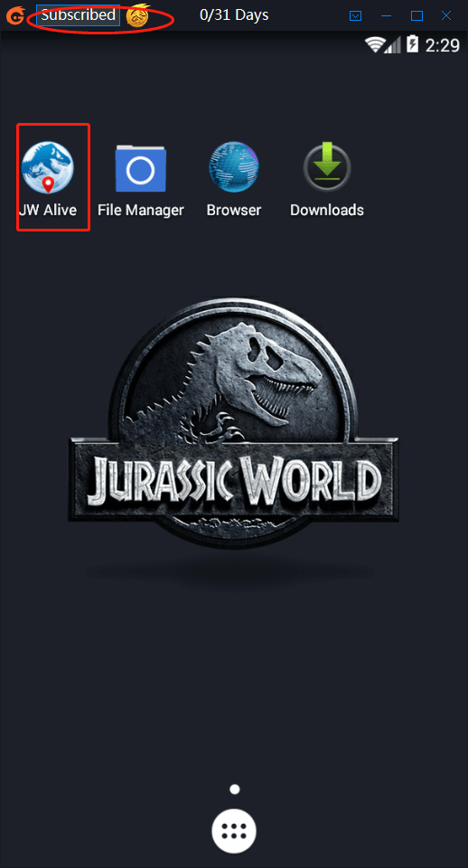 iTools Emulator pour Jurassic World Alive